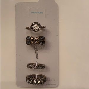 Accessories - Maurices rings! Four brand new rings!